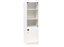 Glass Single Door Bookcase