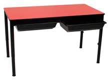Oxford Dual Desk with Slide Out Tray