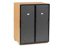 2 Door Locker Flat Top