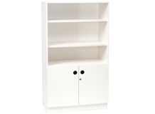 Cabinet Bookcase Double Door 1540mm High