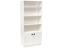 Cabinet Bookcase Double Door 2020mm High