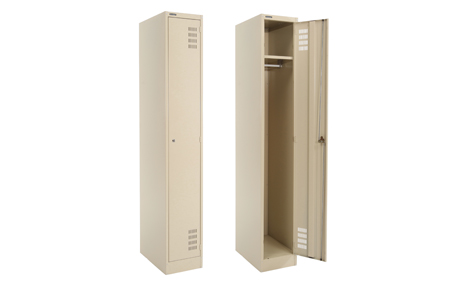 Shield Single Door Steel Locker