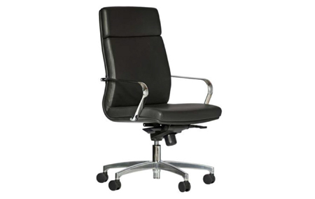 Delta High Back Leather Executive Chair