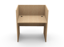 Carrel Desk