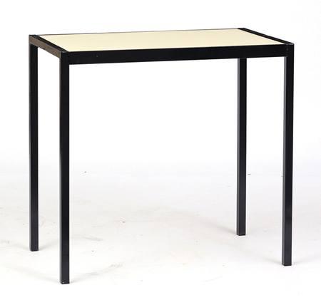 Steel edge table student desks batger furniture for Furniture t trim edging