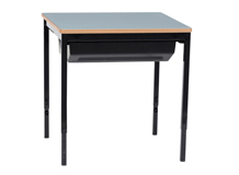 Oxford Single Desk with Slide Out Tray