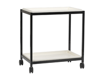 Single Shelf Book Trolley